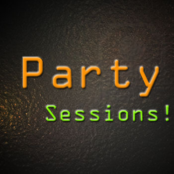 Podcast Party Sessions!